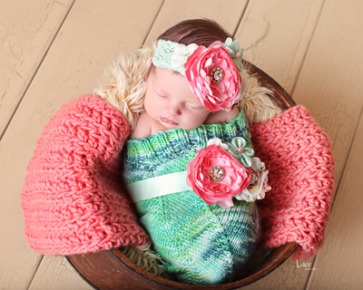 green blue newborn cocoon prop bebe amour by leslie lane